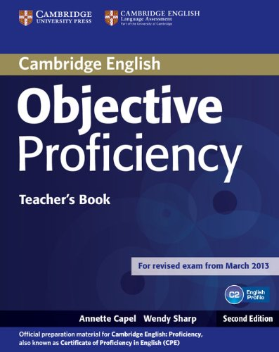 Objective Proficiency (Second Edition) Teacher's Book