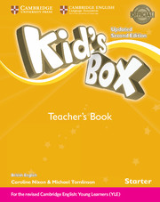 Kid's Box UPDATED Second Edition Starter Teacher's Book