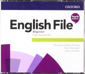 English File Fourth Edition Beginner Class Audio CDs
