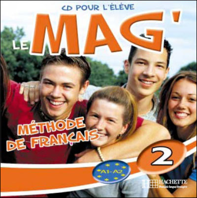 Le Mag' 2 - CD audio eleve (Лицензия)
