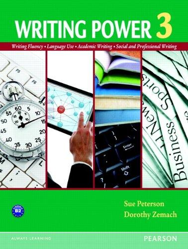 Writing Power 3 Student Book