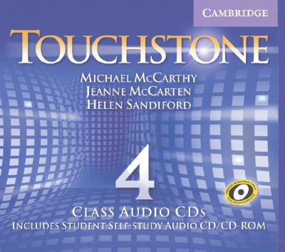Touchstone Level 4 Class Audio CDs (4)