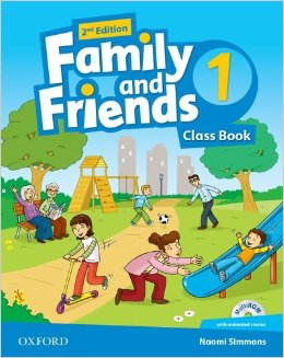 Family and Friends Second Edition 1 Class Book and multiROM Pack