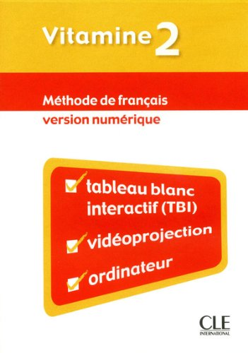 Vitamine 2 - Version numerique collective - CD-Rom TBI