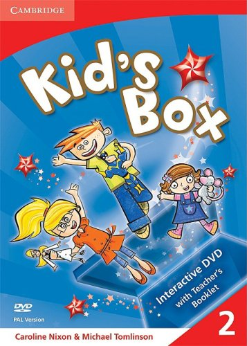 Kid's Box Level 2 Interactive DVD PAL with Teacher's Booklet
