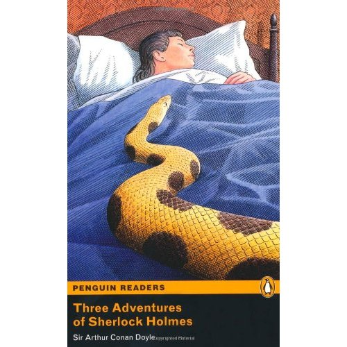 Three Adventures of Sherlock Holmes (with MP3)