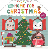 Priddy Roger. Little Friends: Home for Christmas  (board bk)