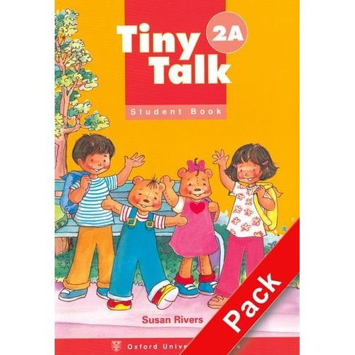 Tiny Talk 2 Pack (A) (Student Book and Audio CD)