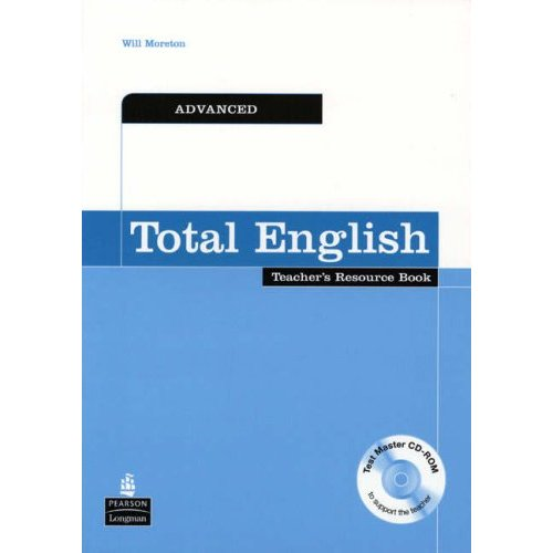 Total English Advanced Teacher's Resource Book with CD-ROM