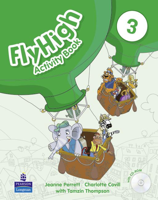 Fly High 3 Activity Book (with CD-ROM)