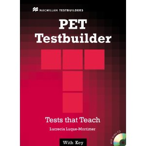PET Testbuilder: Student's Book with key + Audio CD Pack