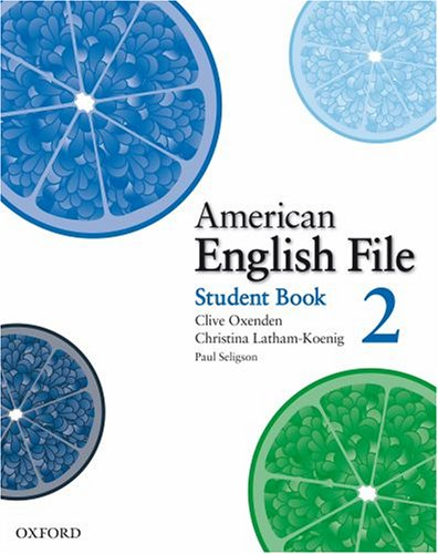 American English File 2 Student Book with Online Skills Practice