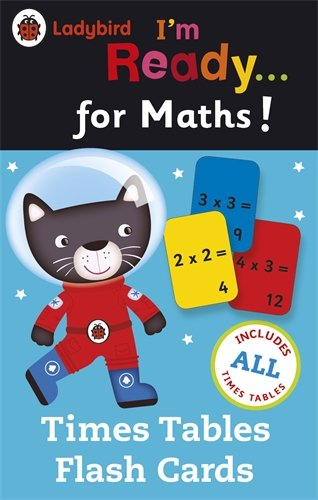 Ladybird I'm Ready for Maths: Time Tables Flash Cards