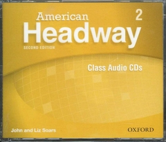 American Headway Second Edition 2 Class Audio CDs (3)