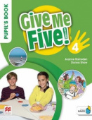Give Me Five! 4 Pupil's Book Pack