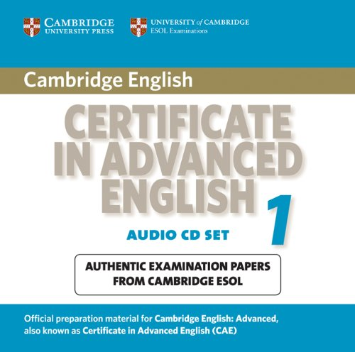 Cambridge Certificate in Advanced English 1 for updated exam Audio CDs (2) (Лицензия)