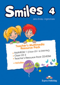 Smiles 4 Teacher's Multimedia Resource Pack (PAL) (set of 3)