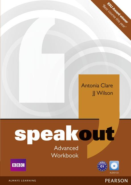 Speakout Advanced Workbook without key and Audio CD