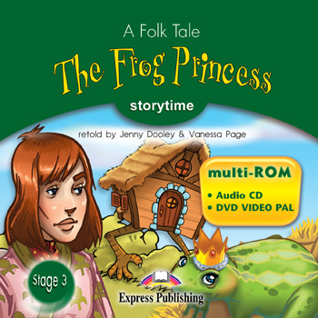Stage 3 - The Frog Princess multi-ROM (Audio CD / DVD Video PAL)
