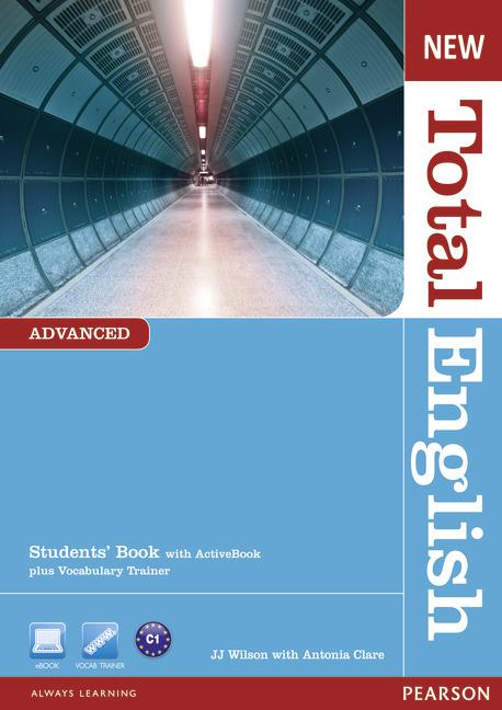 New Total English Advanced Students' Book (with Active Book CD-ROM)