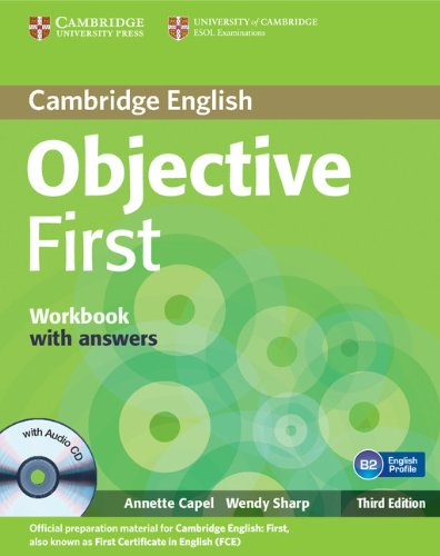 Objective First 3rd Edition Workbook with Answers with Audio CD