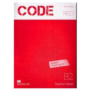 Code Red B2 Teacher Book Test CD Pack