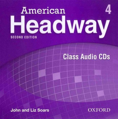 American Headway Second Edition 4 Class Audio CDs (3)