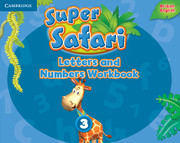 Super Safari 3 Letters and Numbers Workbook