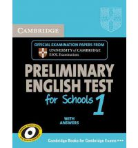 Cambridge English Preliminary for Schools 1 Student's Book with answers