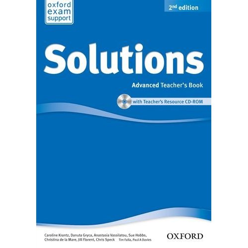 Solutions Second Edition Advanced Teacher's Book and CD-ROM Pack