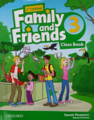 Family and Friends Second Edition 3 Class Book with Student's Site