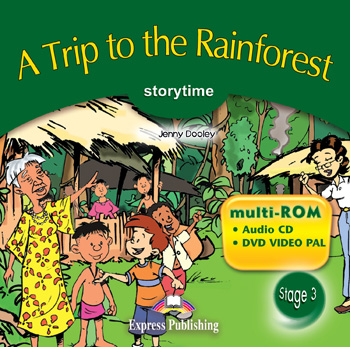 Stage 3 - A Trip to the Rainforest multi-ROM (Audio CD / DVD Video PAL)