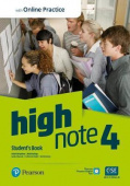 High Note 4 Student's Book with Standard PEP Pack