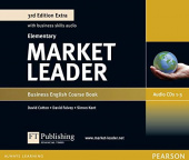 Market Leader 3rd Edition Extra Elementary Class CDs (3)