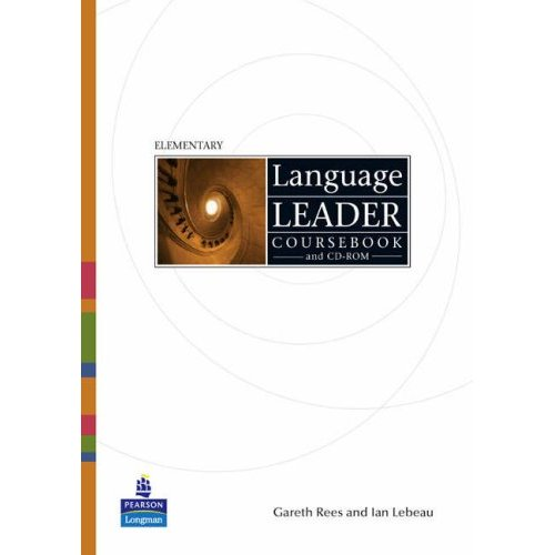 Language Leader Elementary Coursebook + CD-ROM
