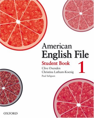 American English File 1 Student Book with Online Skills Practice