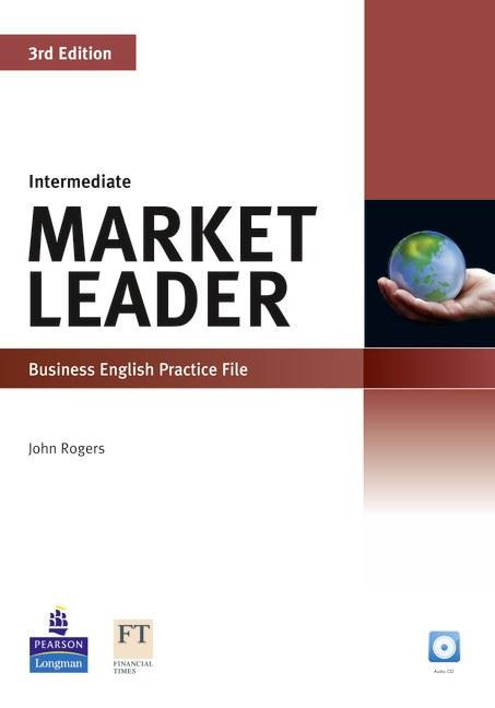 Market Leader 3rd Edition Intermediate Practice File and Practice File CD Pack
