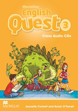 Macmillan English Quest Level 3 Class Audio CD