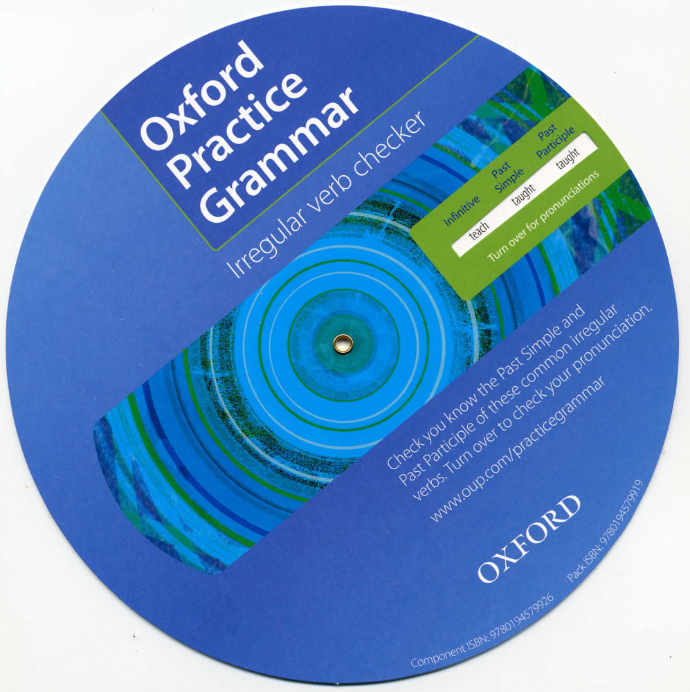 Oxford Practice Grammar Irregular Verb Spinner Pack (25)