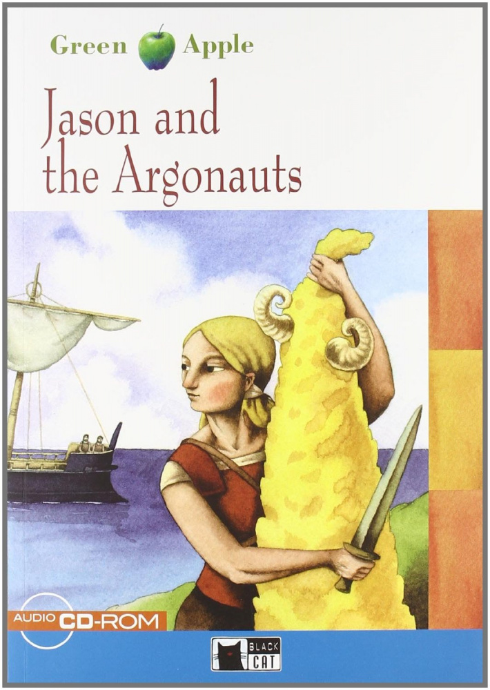 Green Apple Step1:  Jason and the Argonauts with CD-ROM