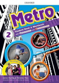 Metro 2 Student Book and Workbook Pack