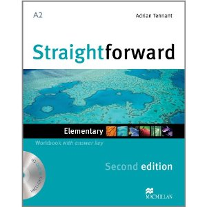 Straightforward (Second Edition) Elementary Workbook with Key + CD