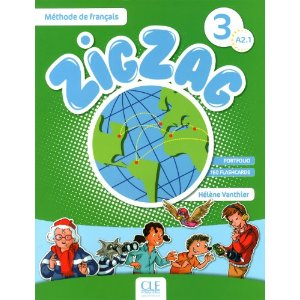 Zigzag 3 - A2.1 - Livre de l'eleve + CD audio
