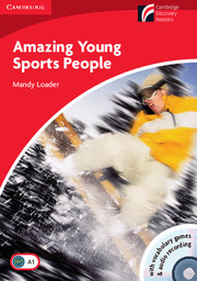 Amazing Young Sports People with CD-ROM/Audio CD