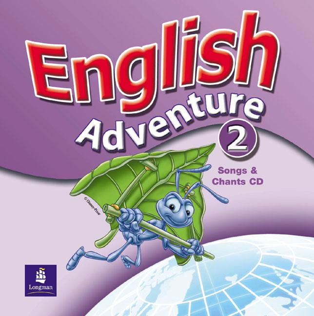 English Adventure 2 Songs CD