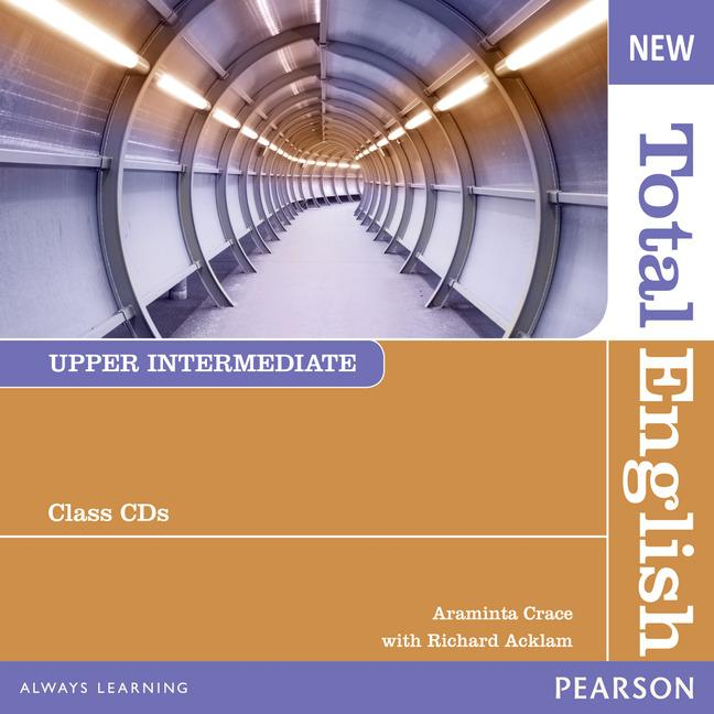 New Total English Upper-Intermediate Class Audio CDs (Лицензия)