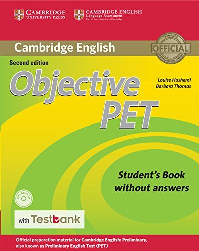 Objective PET 2nd Edition Student's Book without answers with CD-ROM with Testbank