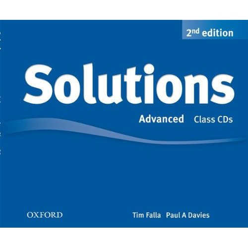 Solutions Second Edition Advanced Class Audio CDs (3)
