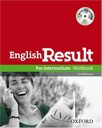 English Result Pre-intermediate Workbook Without Answer Booklet