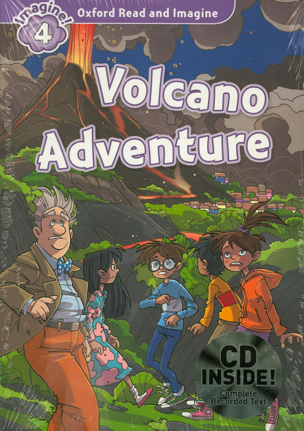 Oxford Read and Imagine Level 4 Volcano Adventure Audio CD Pack